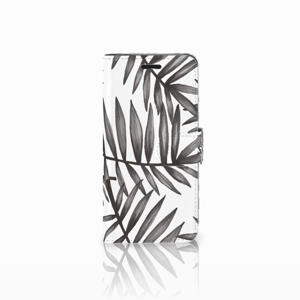 Acer Liquid Z530 | Z530s Uniek Boekhoesje Leaves Grey