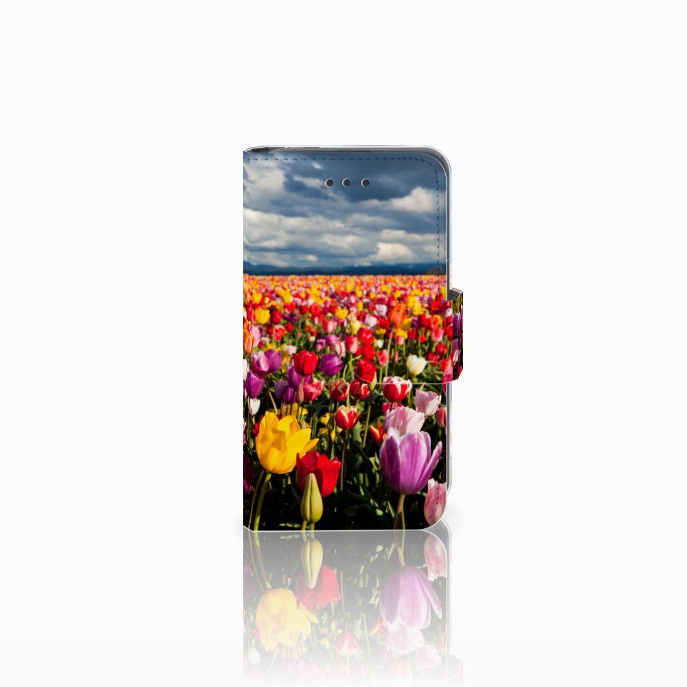 Nokia Lumia 530 Uniek Boekhoesje Tulpen