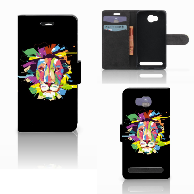 Huawei Y3 2 | Y3 II Leuk Hoesje Lion Color