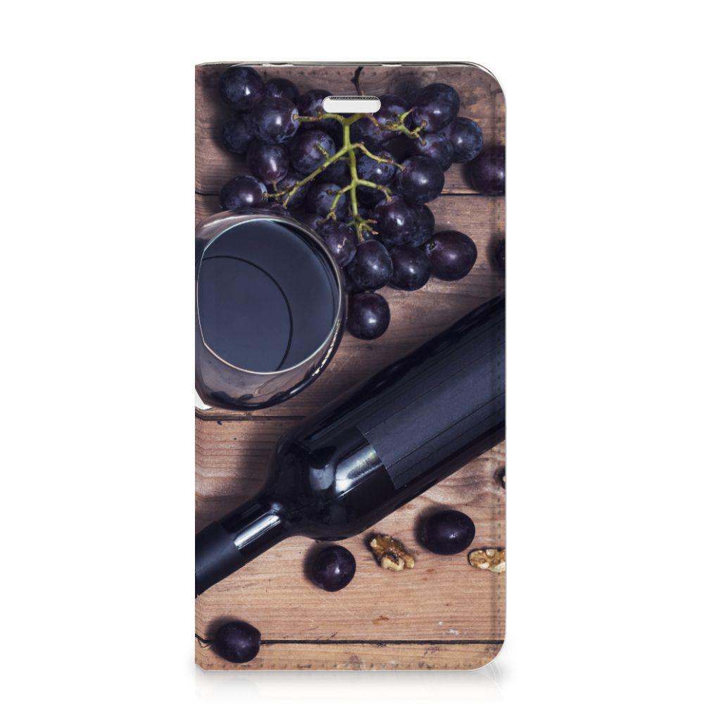 Huawei Y5 2 | Y6 Compact Flip Style Cover Wijn