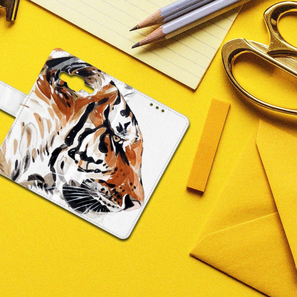 Hoesje Samsung Galaxy J5 (2015) Watercolor Tiger