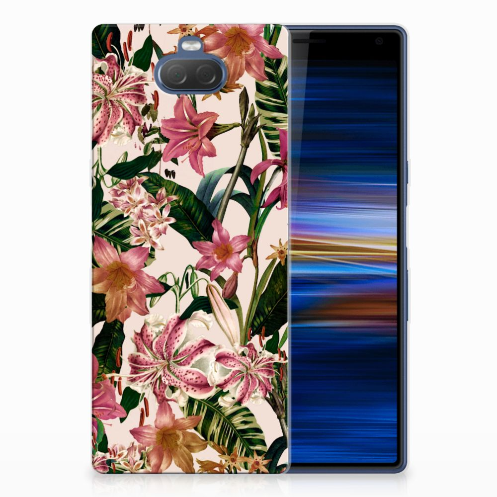 Sony Xperia 10 Plus Uniek TPU Hoesje Flowers