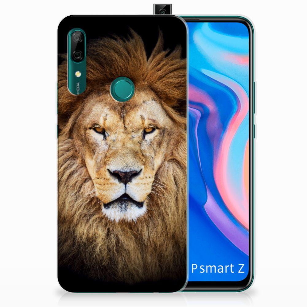 Huawei P Smart Z TPU Hoesje Leeuw