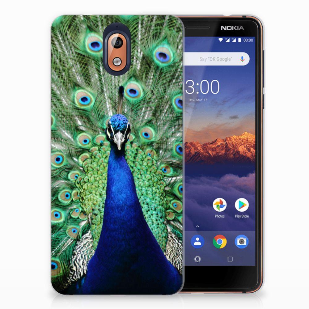 Nokia 3.1 (2018) TPU Hoesje Design Pauw