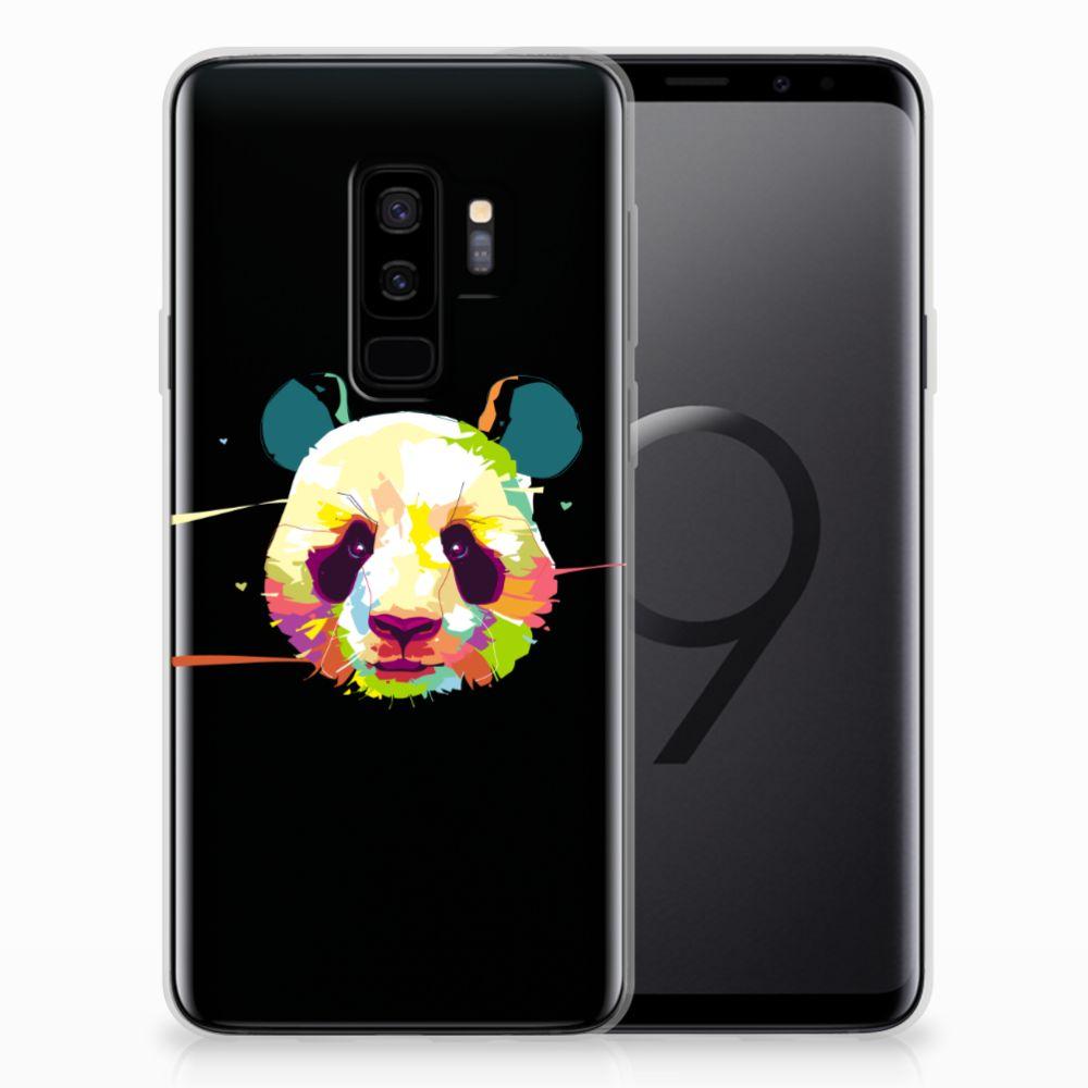 Samsung Galaxy S9 Plus Telefoonhoesje met Naam Panda Color