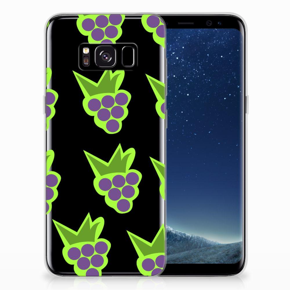 Samsung Galaxy S8 Siliconen Case Druiven