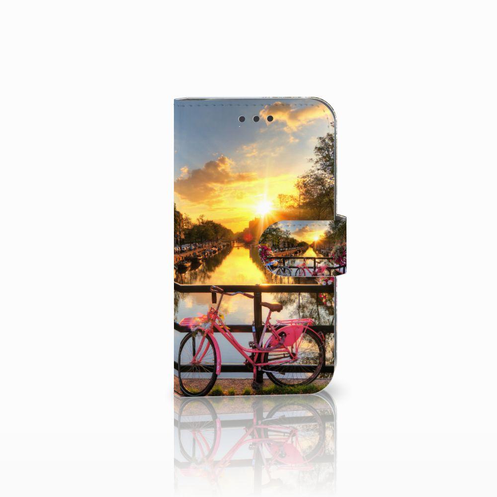 Samsung Galaxy S3 i9300 Uniek Boekhoesje Amsterdamse Grachten