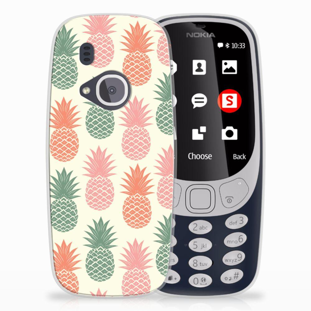Nokia 3310 (2017) TPU Hoesje Design Ananas