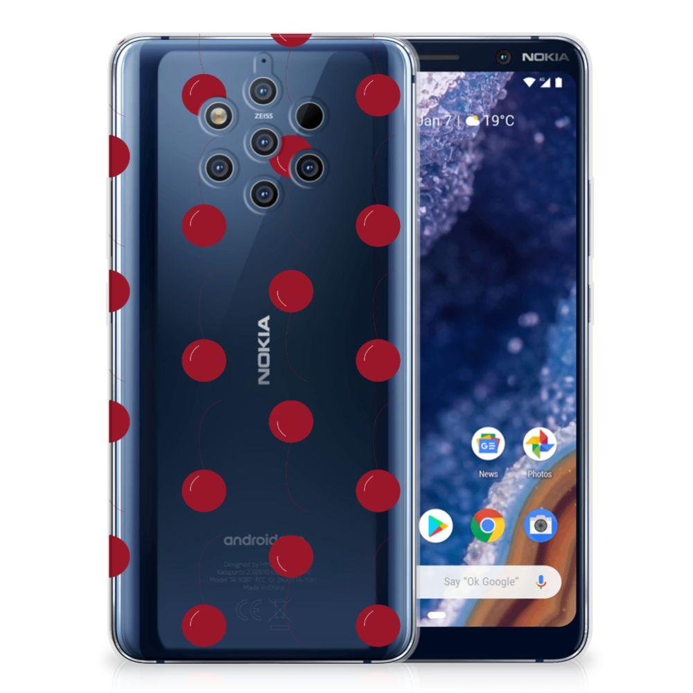 Nokia 9 PureView Siliconen Case Cherries
