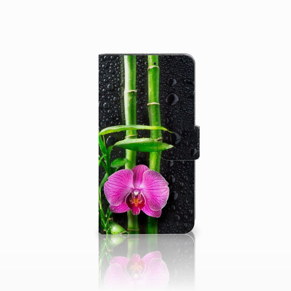 Huawei Honor 6X Boekhoesje Design Orchidee