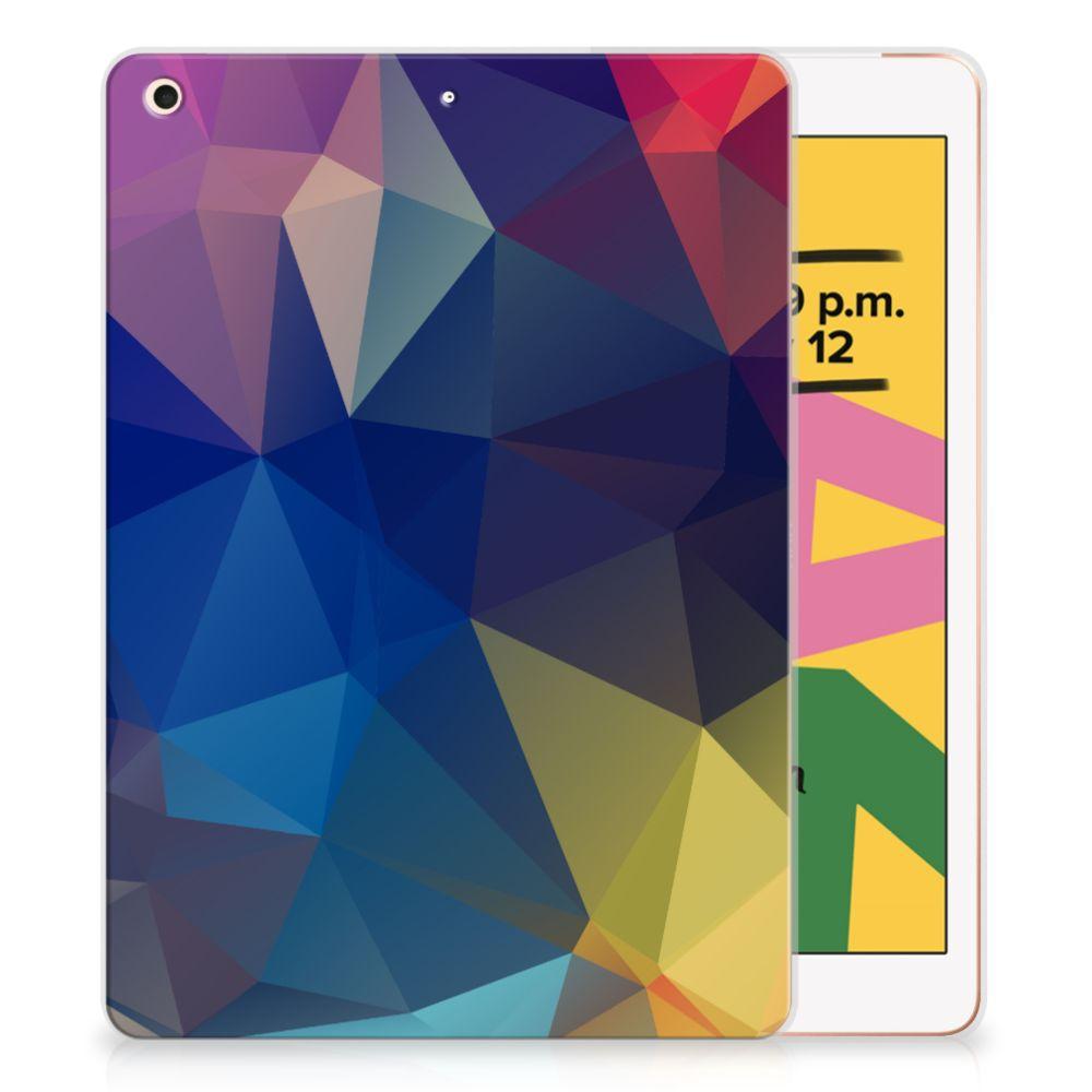Apple iPad 10.2 (2019) Back Cover Polygon Dark