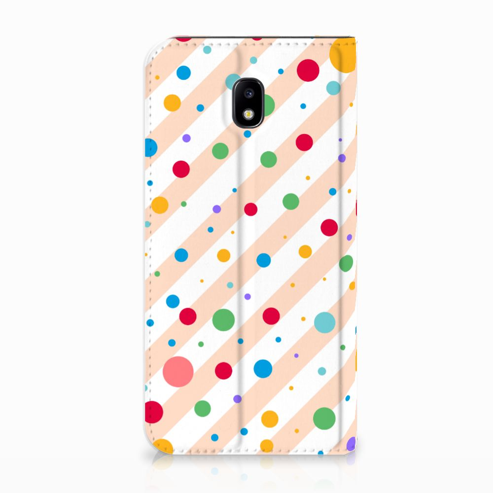 Samsung Galaxy J5 2017 Standcase Hoesje Design Dots