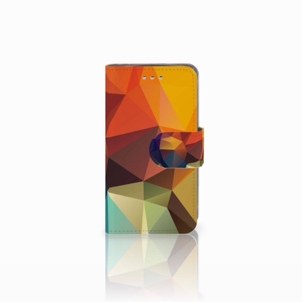 Samsung Galaxy S3 Mini Bookcase Polygon Color