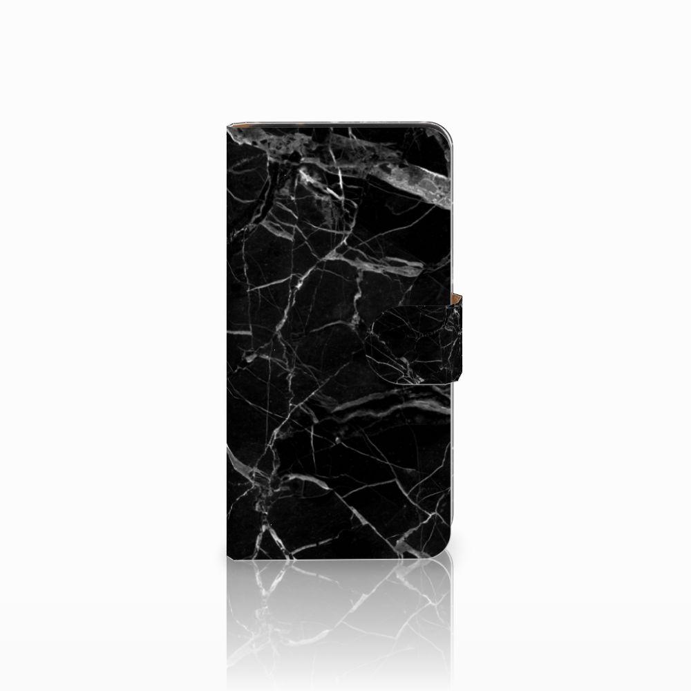 Samsung Galaxy J2 2016 Uniek Boekhoesje Marmer Zwart
