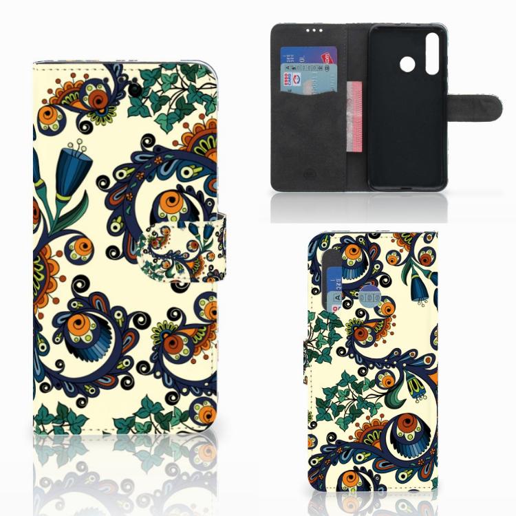 Wallet Case Huawei Nova 4 Barok Flower
