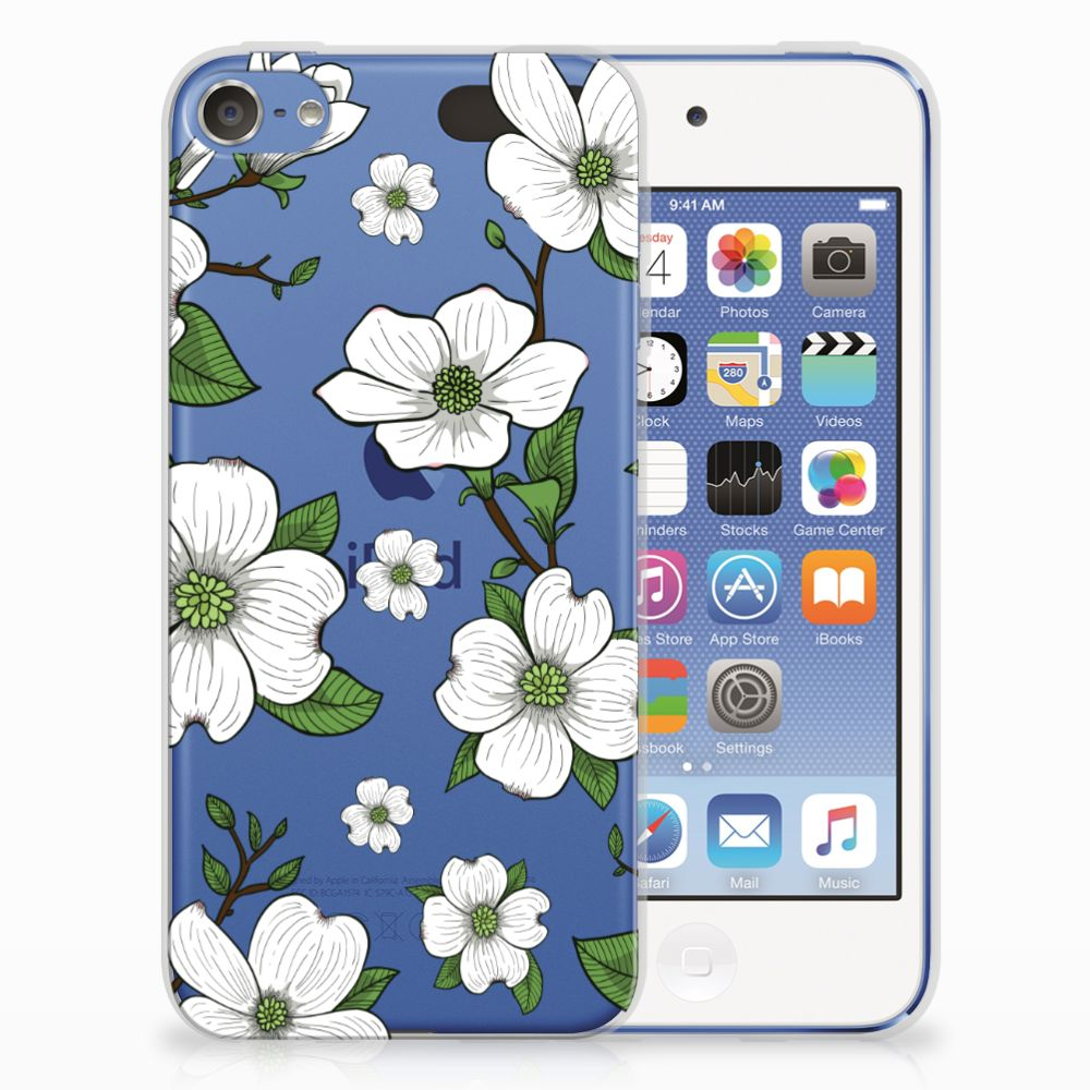 Apple iPod Touch 5 | 6 TPU Case Dogwood Flowers
