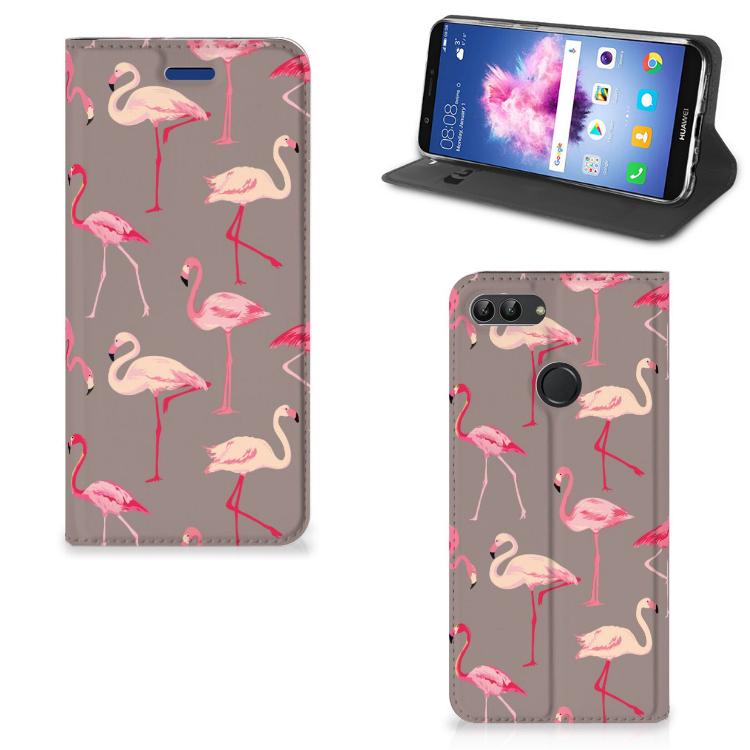Huawei P Smart Hoesje maken Flamingo