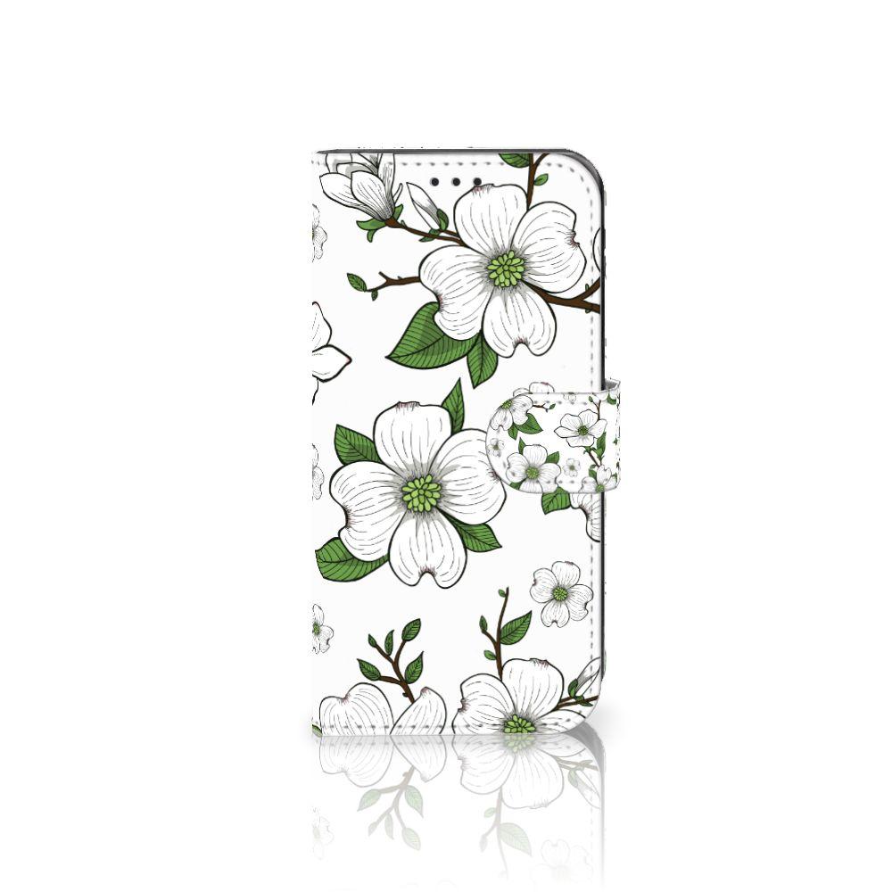Samsung Galaxy J5 2017 Boekhoesje Design Dogwood Flowers