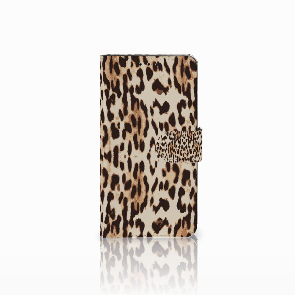 Huawei Honor 6X Uniek Boekhoesje Leopard
