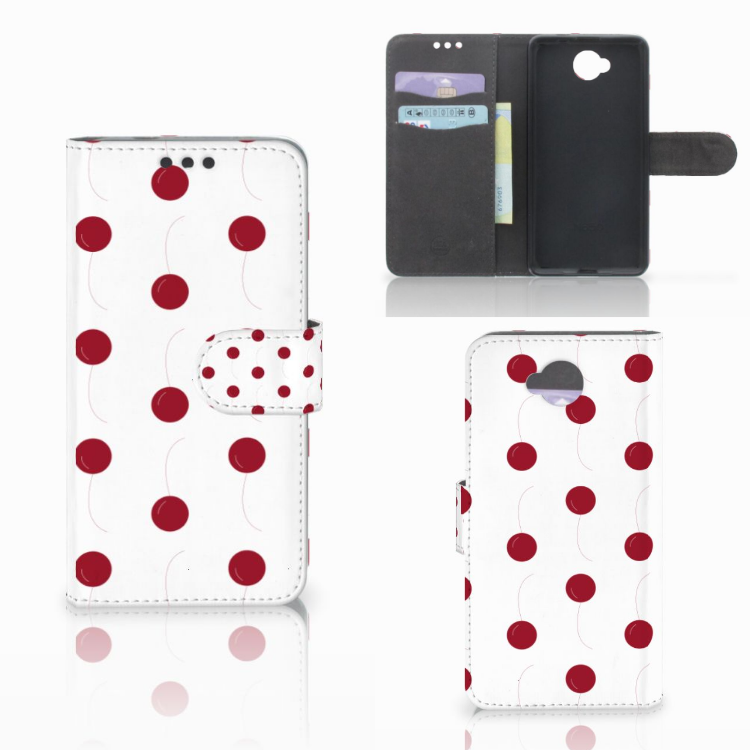 Microsoft Lumia 650 Book Cover Cherries