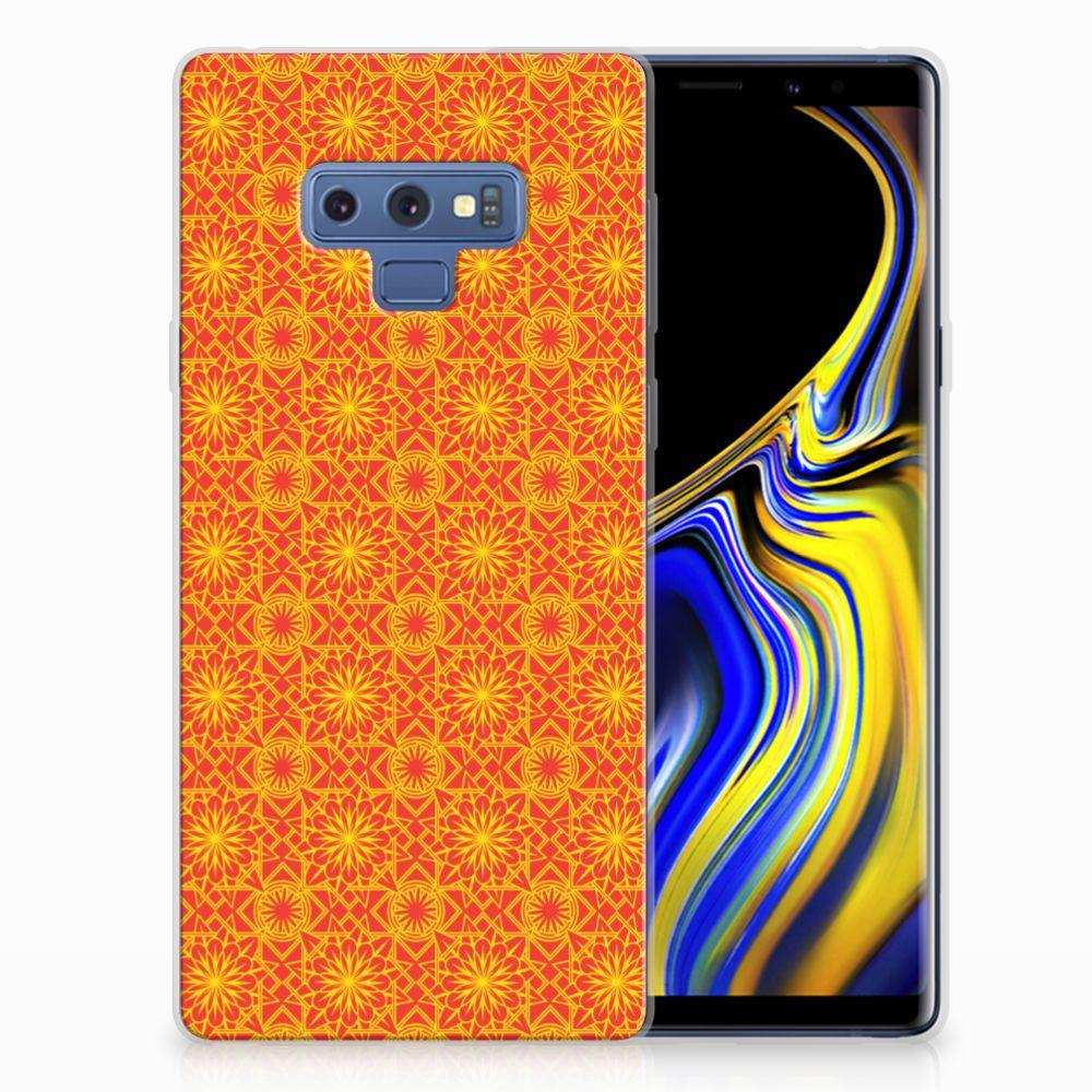 Samsung Galaxy Note 9 TPU bumper Batik Oranje
