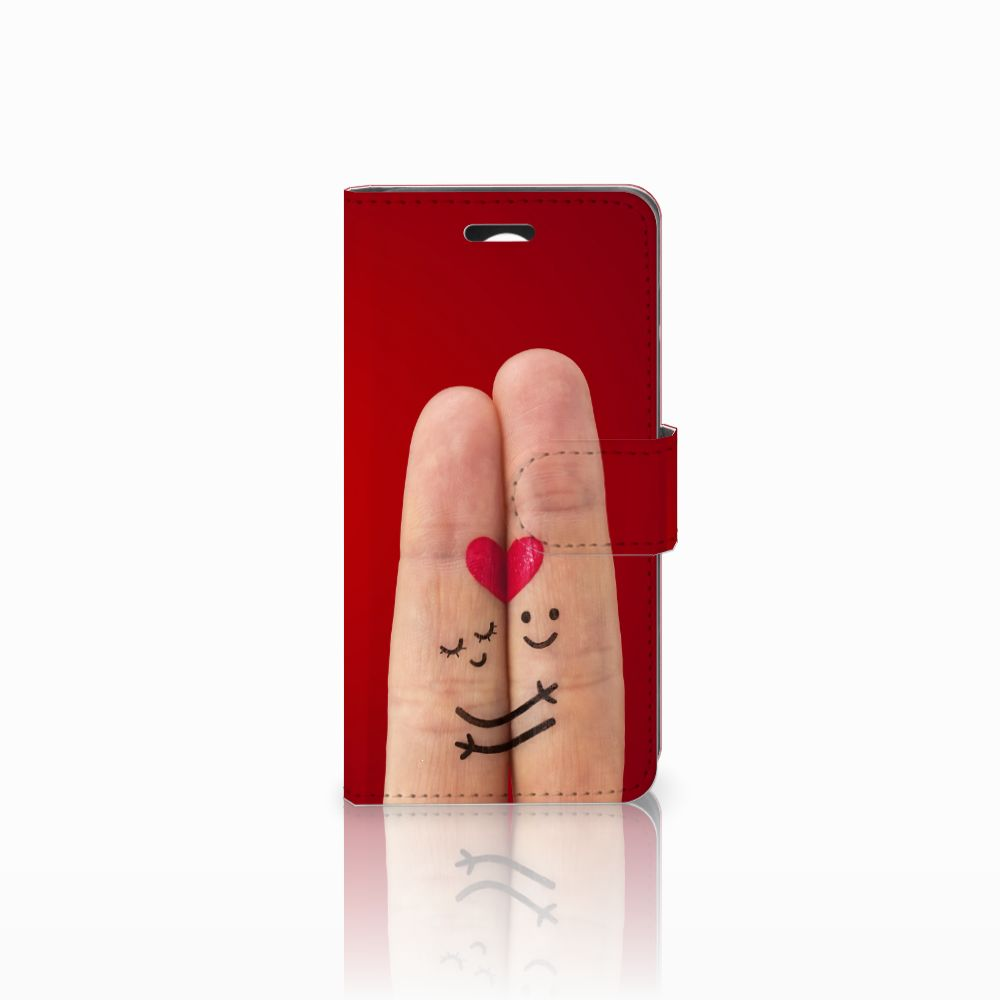 Huawei Y3 2   Y3 II Uniek Boekhoesje Liefde