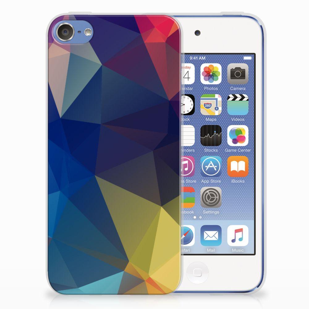 Apple iPod Touch 5 | 6 TPU Hoesje Polygon Dark