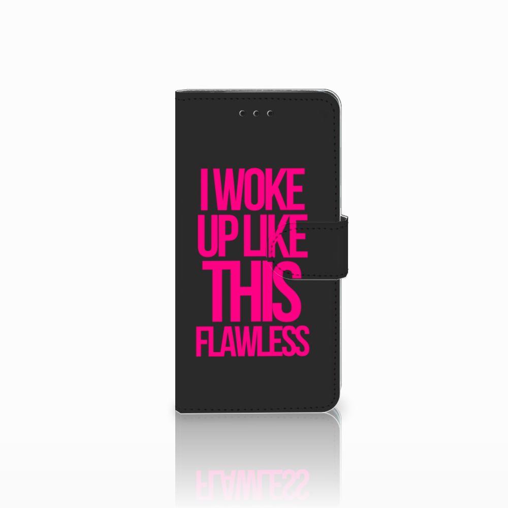 Huawei Y5 2018 Hoesje met naam Woke Up