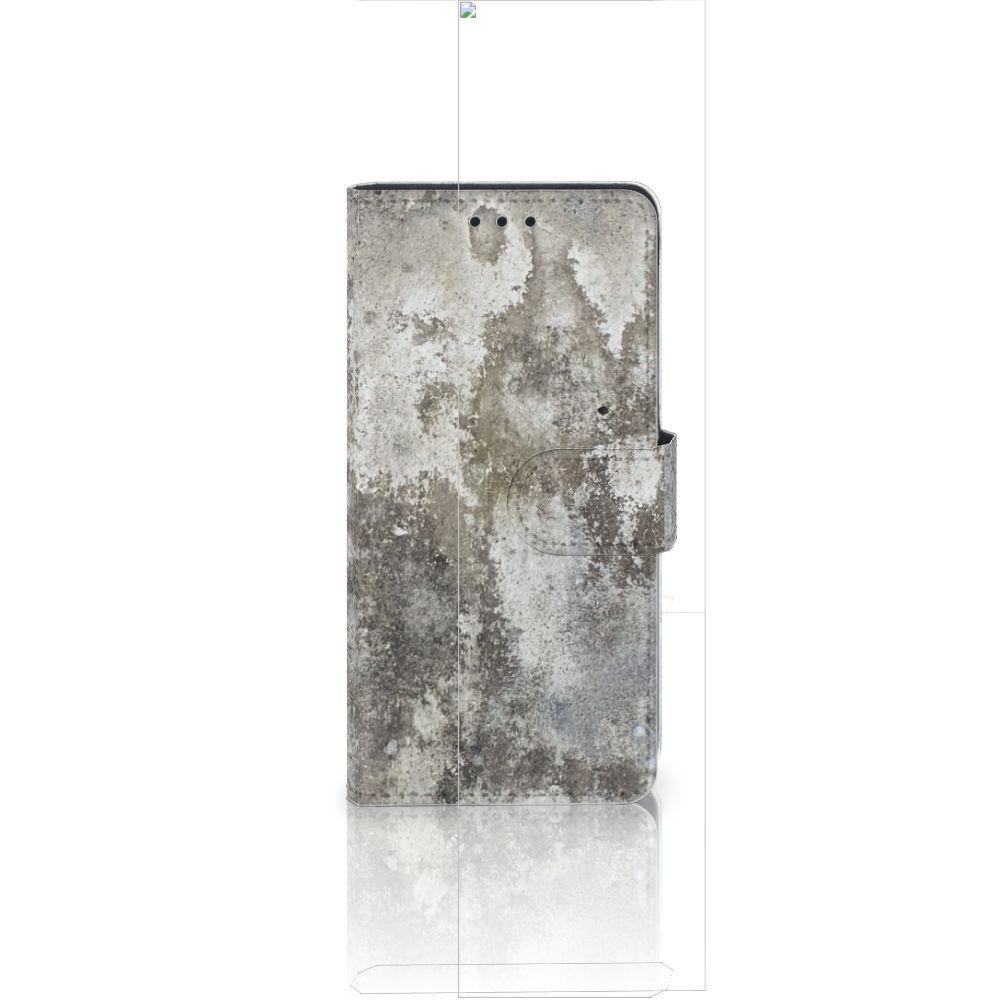 Huawei Ascend P8 Lite Bookcase Beton Print