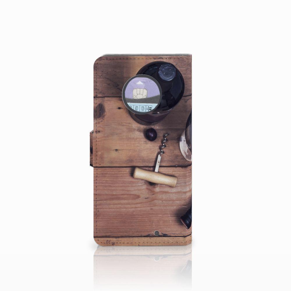 Motorola Moto X4 Book Cover Wijn