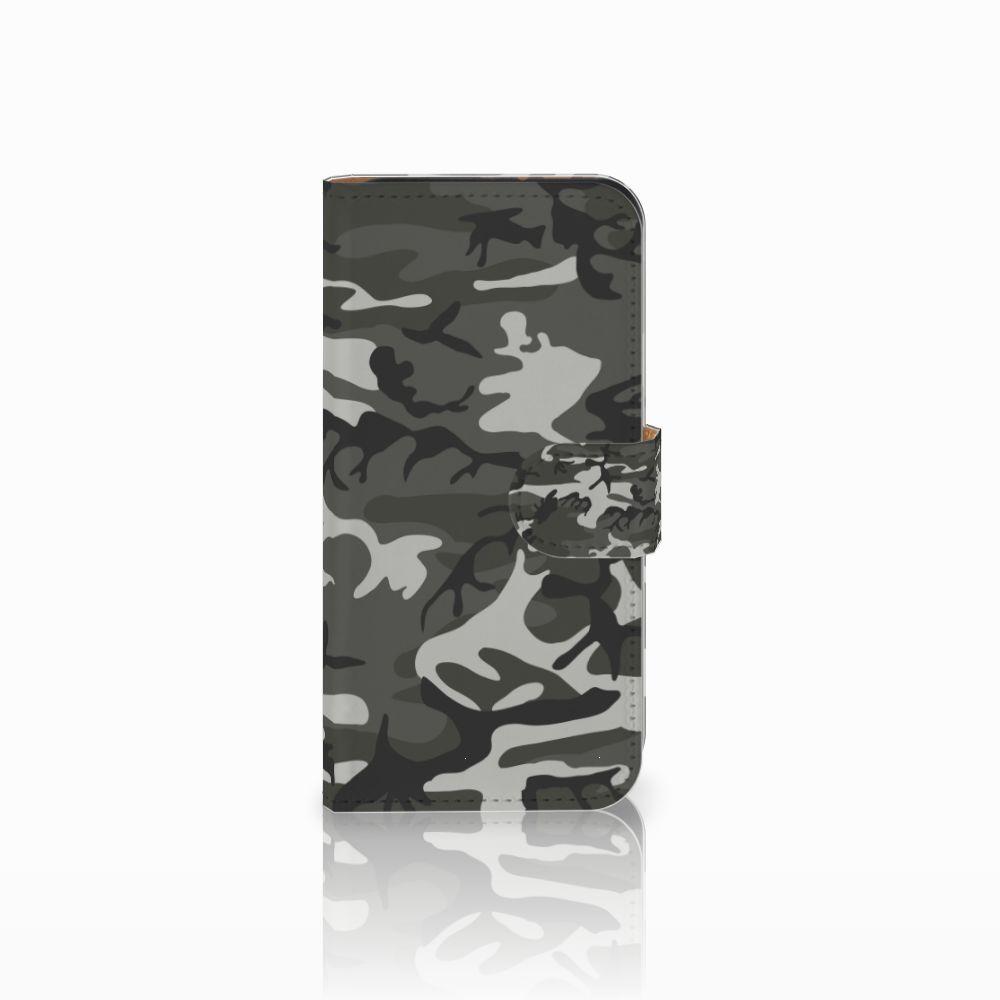 HTC One Mini 2 Uniek Boekhoesje Army Light