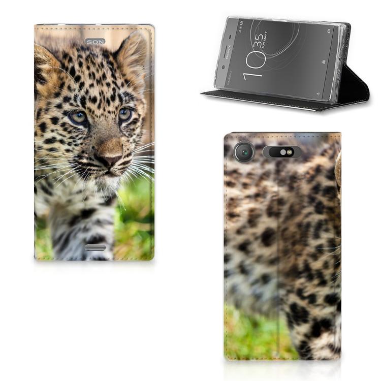 Sony Xperia XZ1 Hoesje maken Baby Luipaard