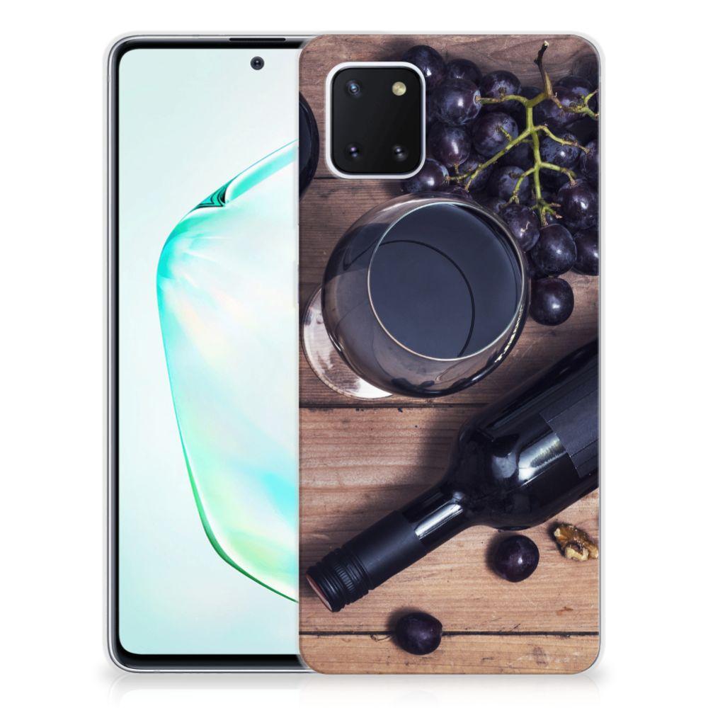 Samsung Galaxy Note 10 Lite Siliconen Case Wijn