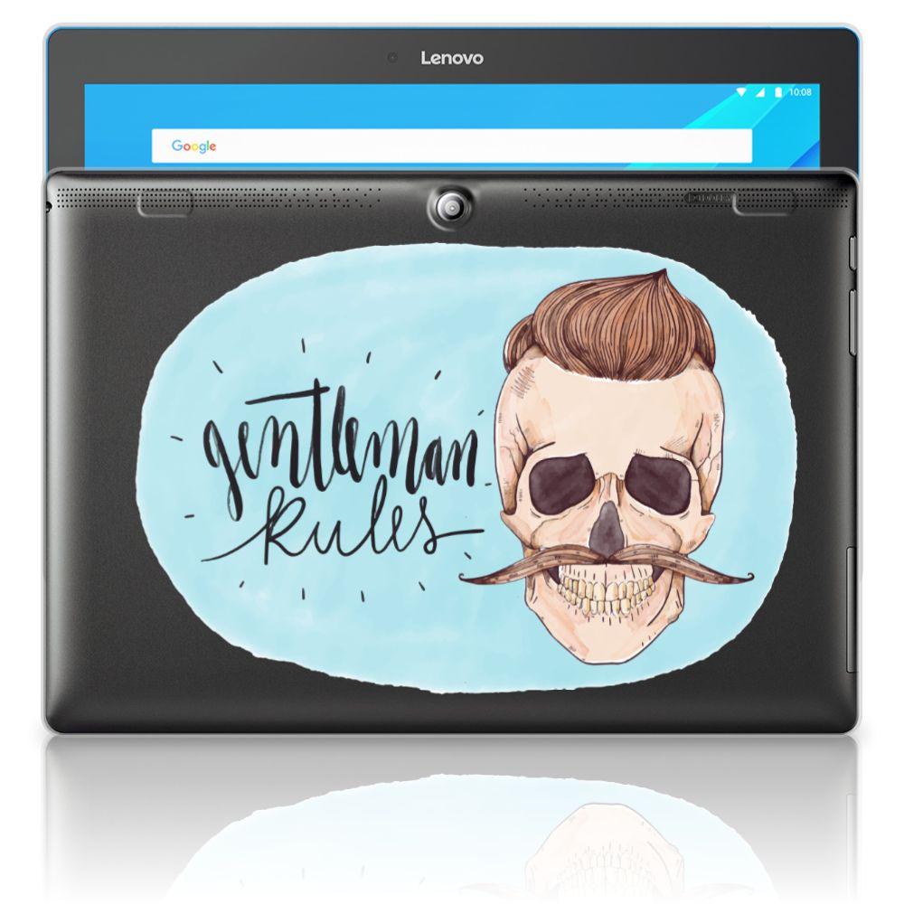 Lenovo Tab 10 | Tab 2 A10-30 Uniek Tablethoesje Gentleman Skull