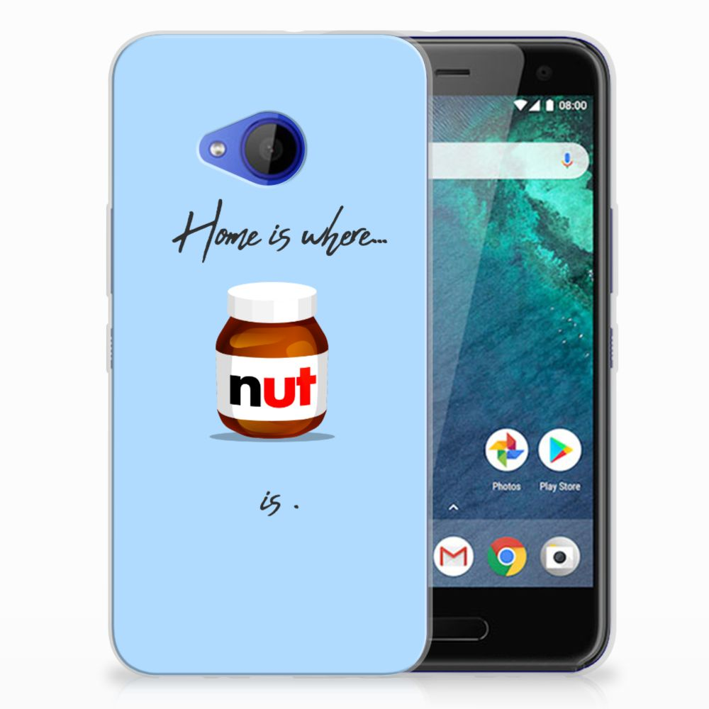 HTC U11 Life Siliconen Case Nut Home