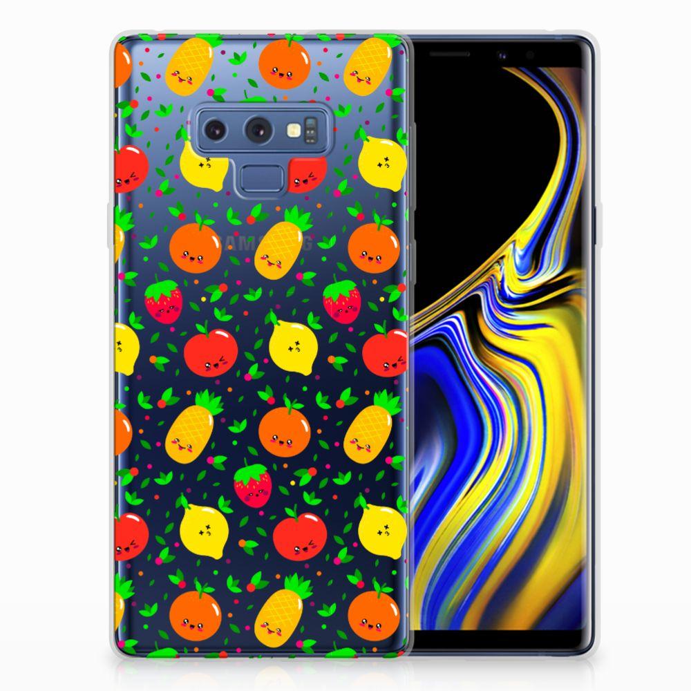 Samsung Galaxy Note 9 Siliconen Case Fruits