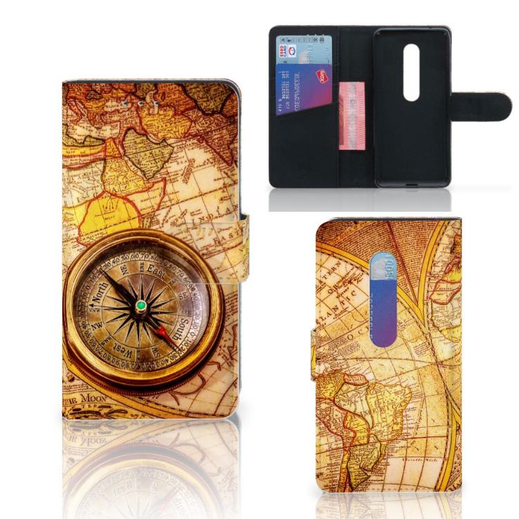 Motorola Moto G 3e Generatie Flip Cover Kompas