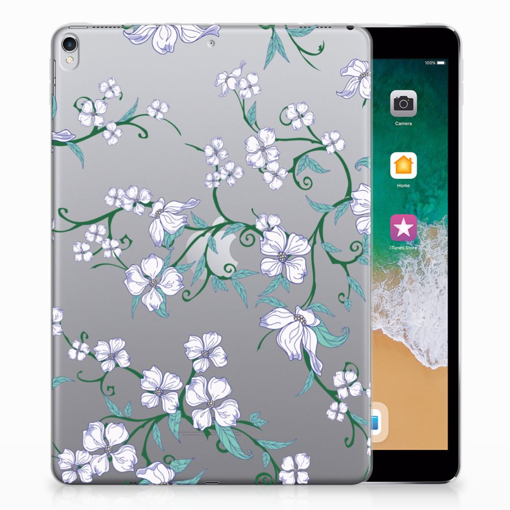 Apple iPad Pro 10.5 Uniek Tablethoesje Blossom White