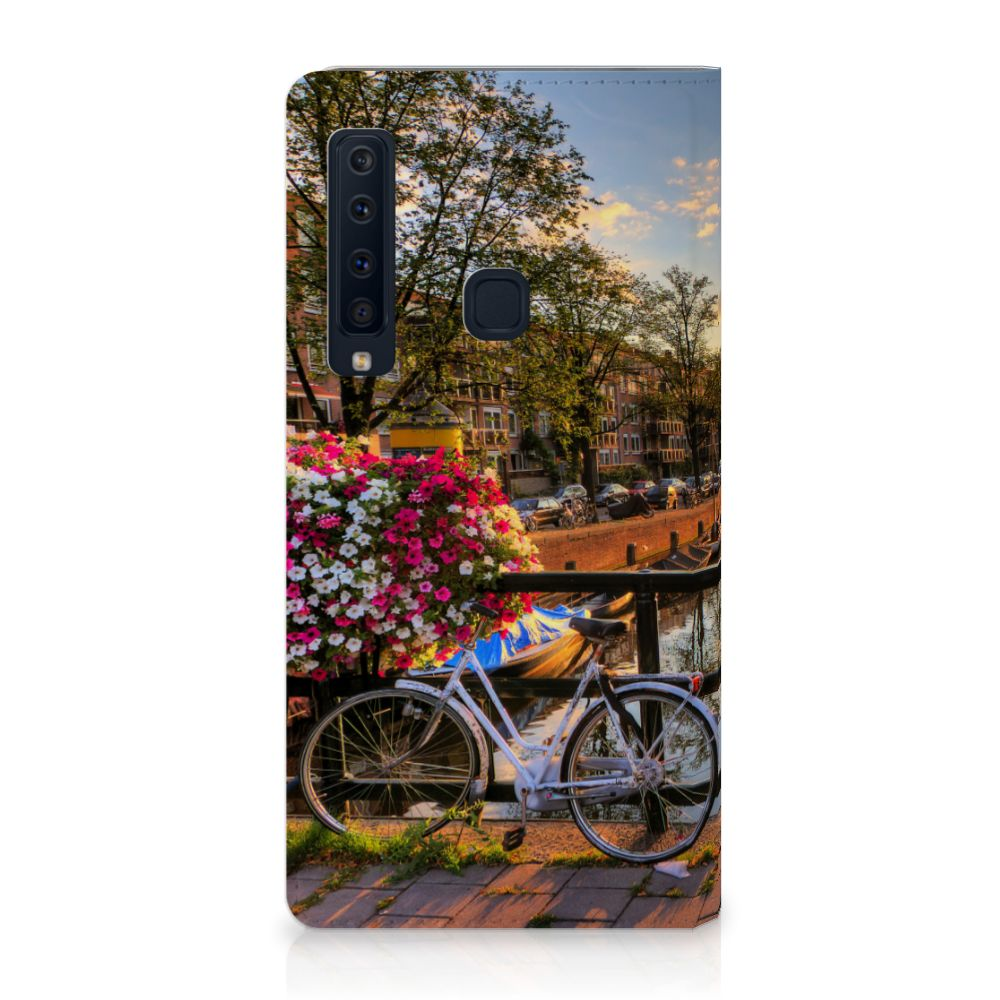Samsung Galaxy A9 (2018) Uniek Standcase Hoesje Amsterdamse Grachten