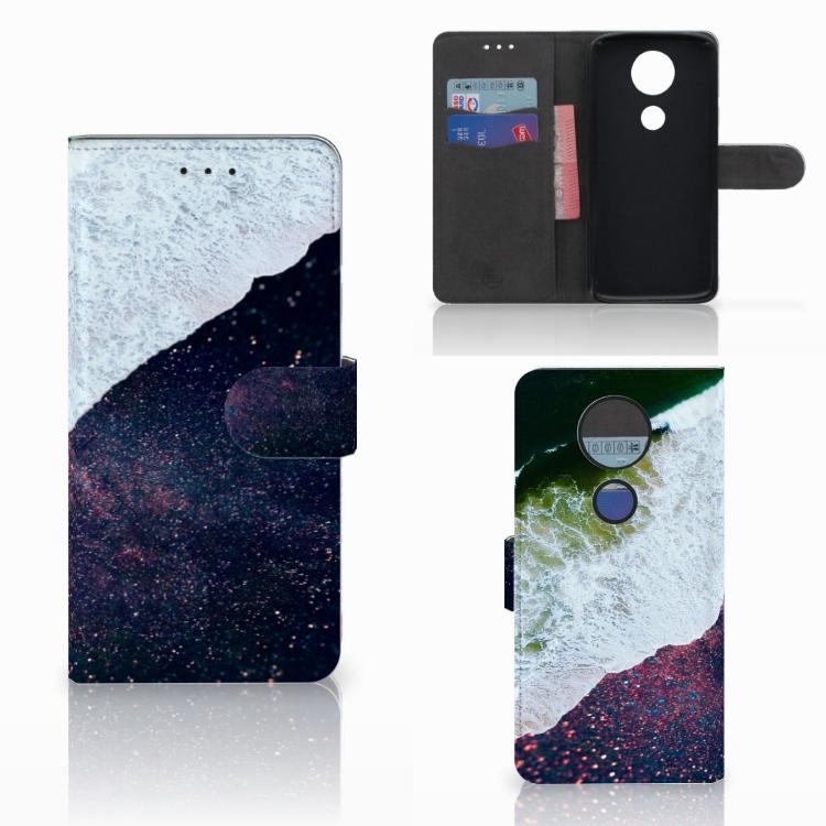 Motorola Moto E5 Plus Bookcase Sea in Space