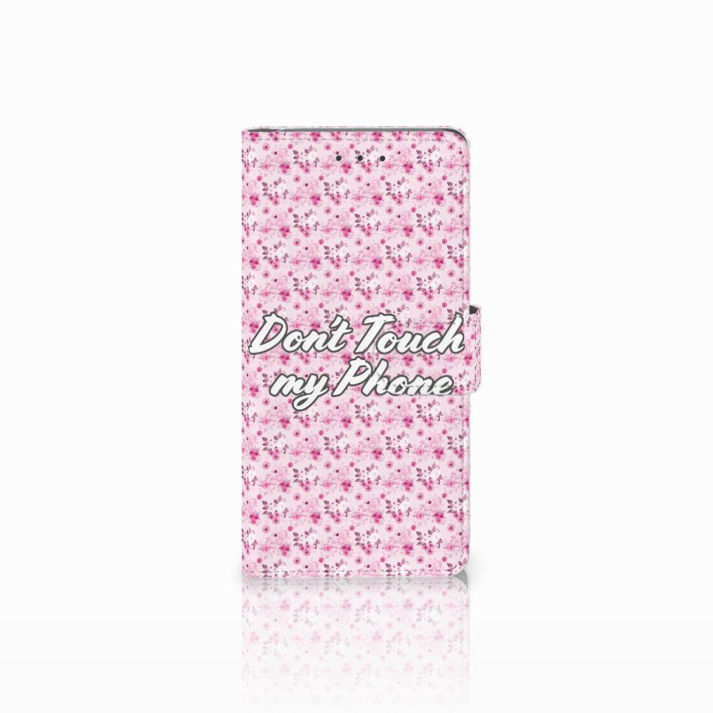 Samsung Galaxy Grand Prime | Grand Prime VE G531F Uniek Boekhoesje Flowers Pink DTMP