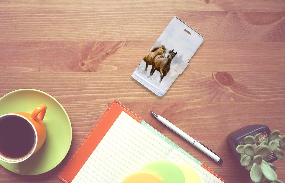 Acer Liquid Z330 Uniek Boekhoesje Paarden