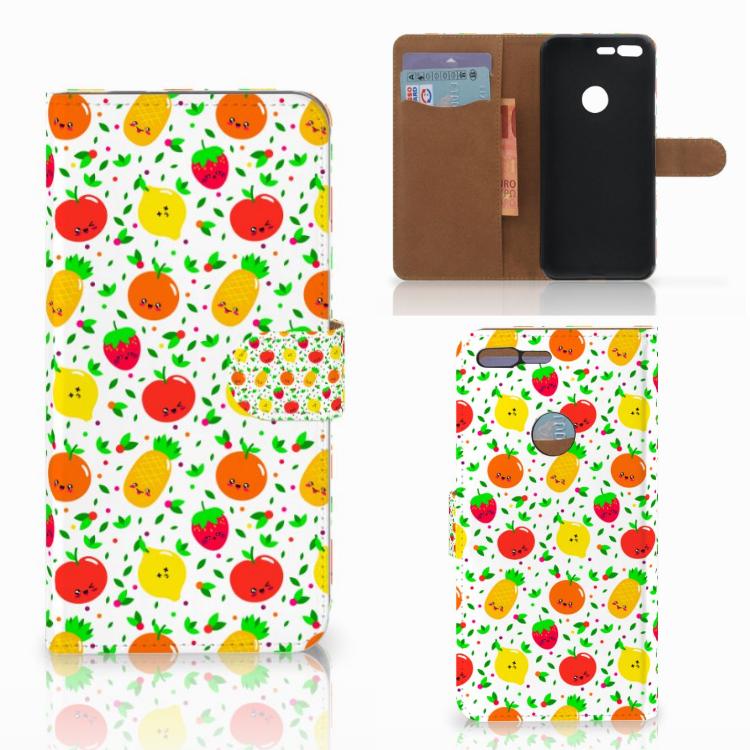 Google Pixel XL Book Cover Fruits