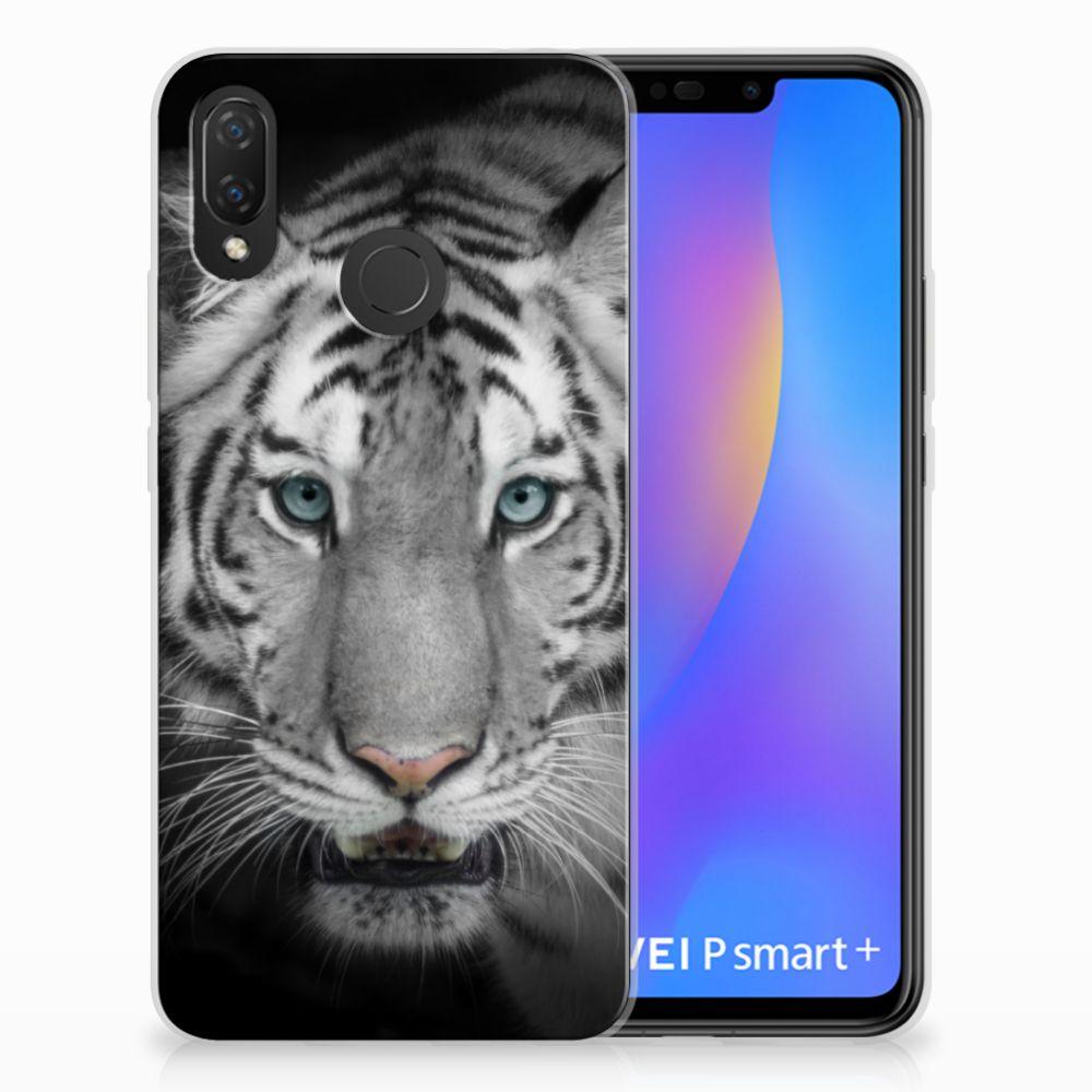 Huawei P Smart Plus Uniek TPU Hoesje Tijger