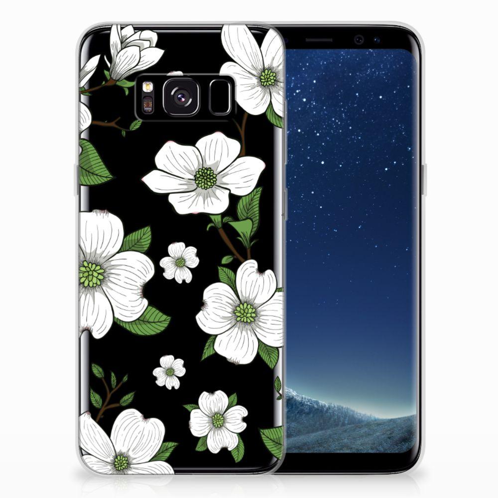 Samsung Galaxy S8 TPU Case Dogwood Flowers