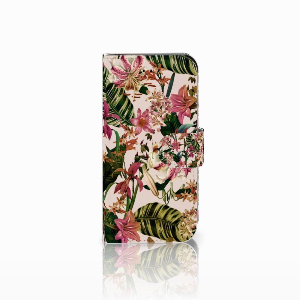 Apple iPhone 6 | 6s Uniek Boekhoesje Flowers