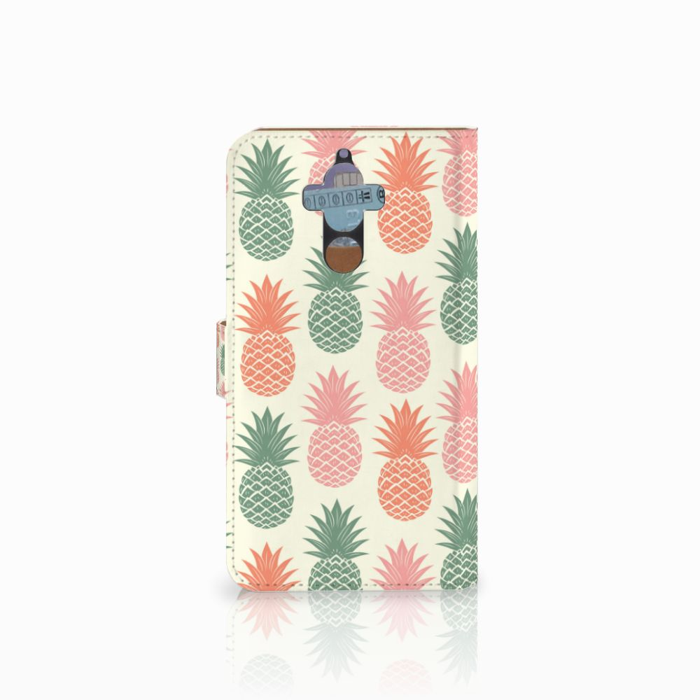 Huawei Mate 9 Book Cover Ananas