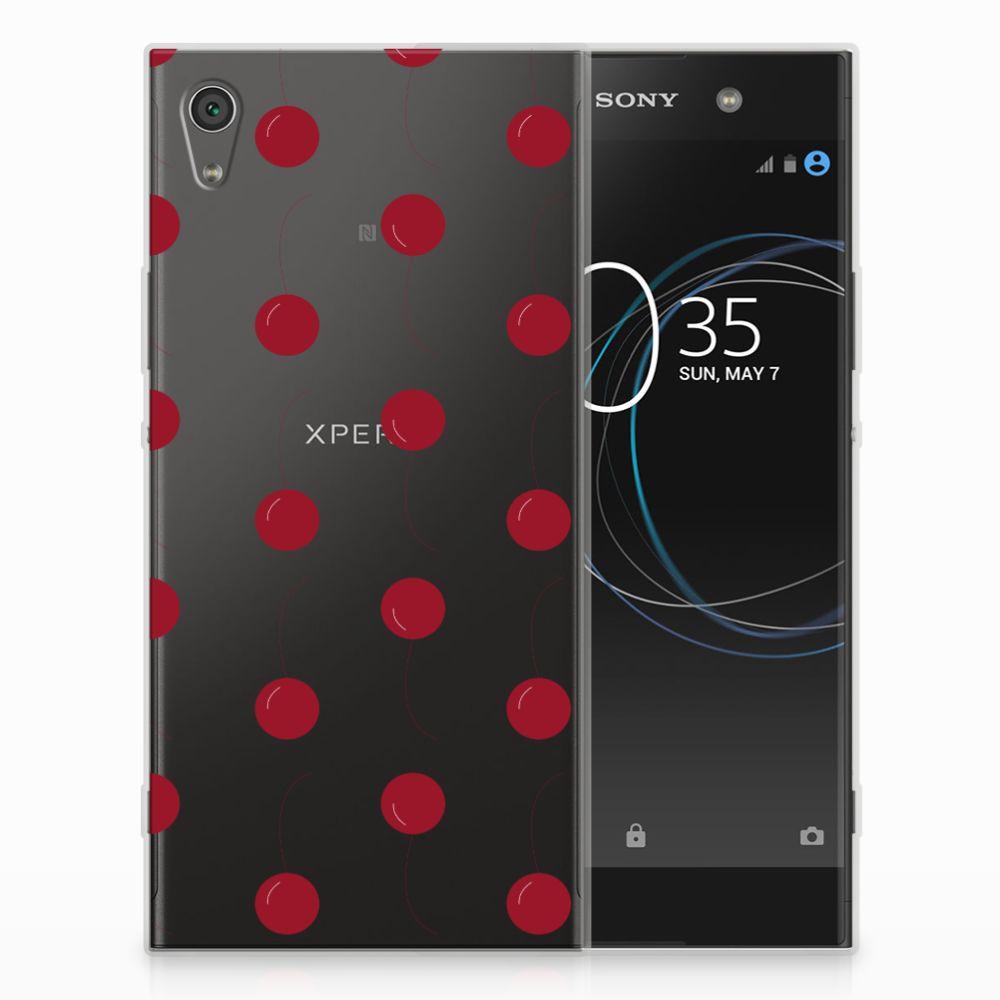 Sony Xperia XA1 Ultra Siliconen Case Cherries