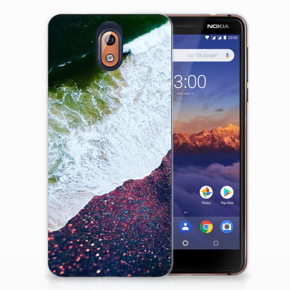 Nokia 3.1 (2018) TPU Hoesje Sea in Space