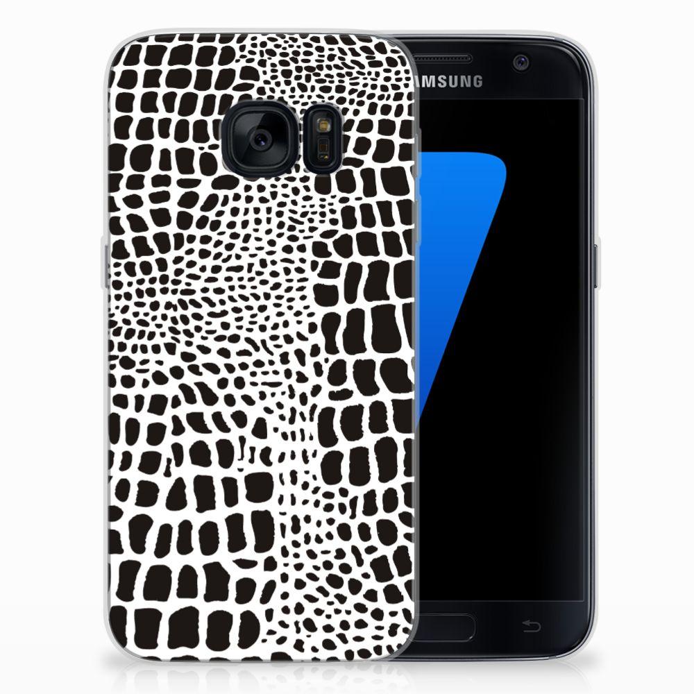 Samsung Galaxy S7 TPU Hoesje Slangenprint